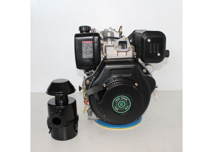 Дизельный двигатель Grunwelt GW192FE (14 л.с.)