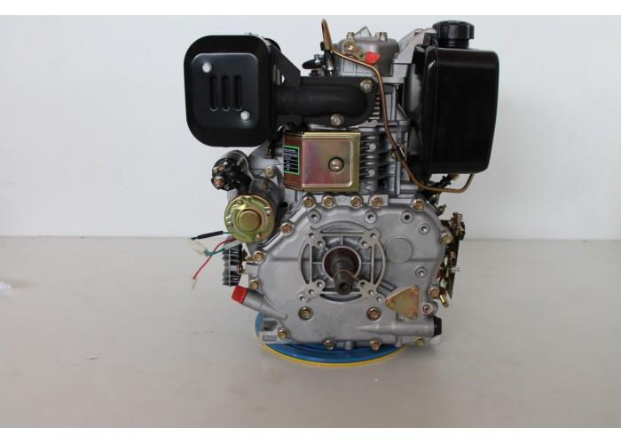 Дизельный двигатель Grunwelt GW192FE F2 (14 л.с.)