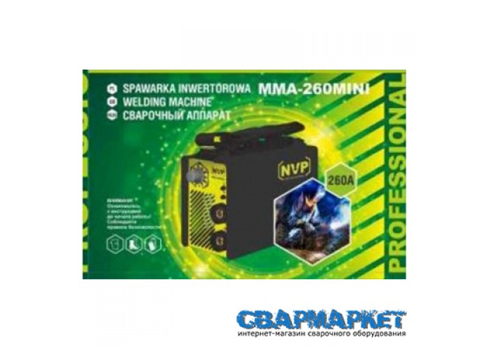 Сварочный инвертор NVP MMA 260 mini